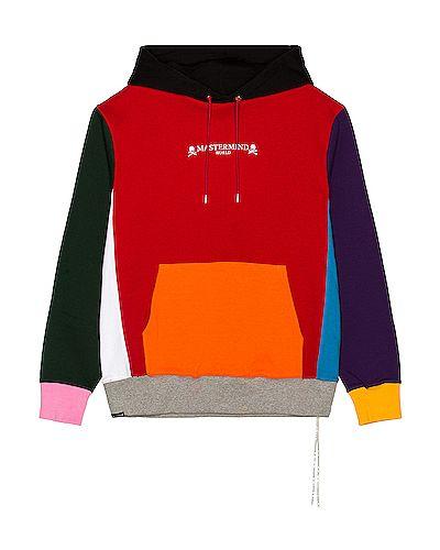 Bluza kangurka z kapturem z haftem bawełniana Mastermind World