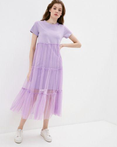 Фиолетовая футболка снежная королева