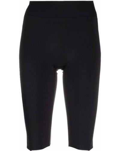 Черные шорты с завышенной талией Reebok X Victoria Beckham
