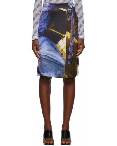 Satynowa spódnica Serapis