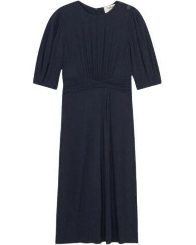 Niebieska sukienka Ba&sh