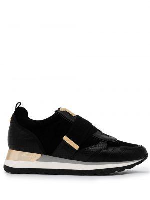 Złote czarne sneakersy Carvela