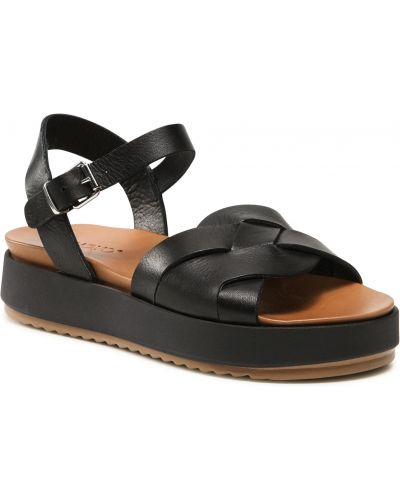Czarne sandały Inuovo