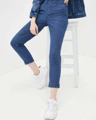 Прямые синие брюки Gap