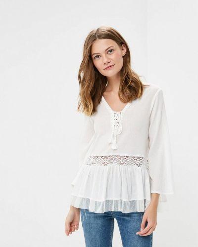Блузка белая весенний Piazza Italia