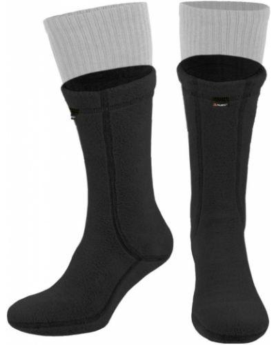 Флисовые носки - черные Rozetka