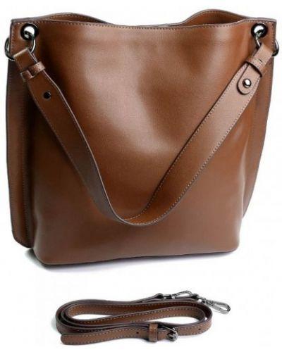 Кожаная сумка - бежевая Parse