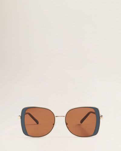 Солнцезащитные очки синий Mango