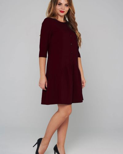 Деловое платье платье-сарафан из вискозы Mari-line