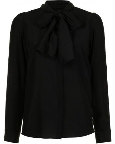 Шелковая блузка - черная Paule Ka