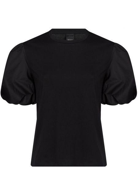 Хлопковая черная блузка Pinko