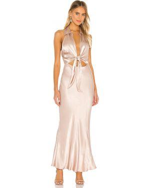 Sukienka midi dżinsowa z wiskozy L'academie