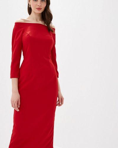 Вечернее платье красный Irina Vladi