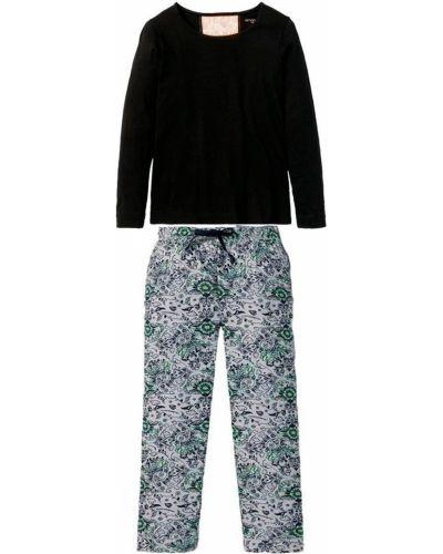 Фланелевая пижама - черная Esmara