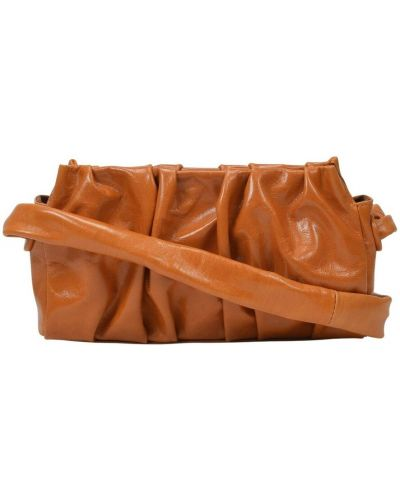 Pomarańczowa torebka skórzana Elleme