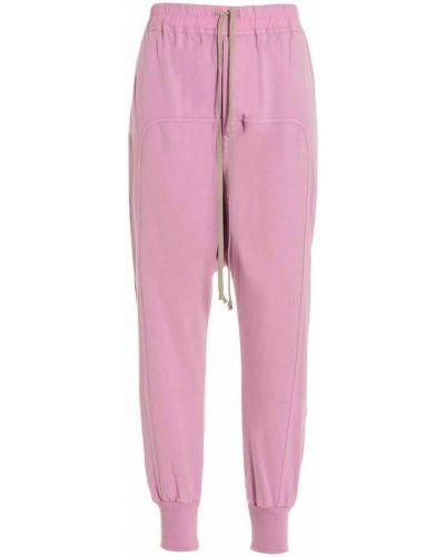 Spodnie - różowe Rick Owens