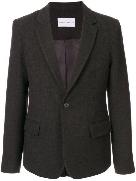 Однобортный классический пиджак Strateas Carlucci