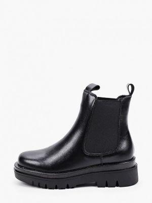 Черные кожаные ботинки челси Der Spur
