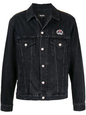Klasyczne czarne jeansy bawełniane Just Don