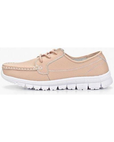 Кожаные ботинки низкие розовый Shoiberg