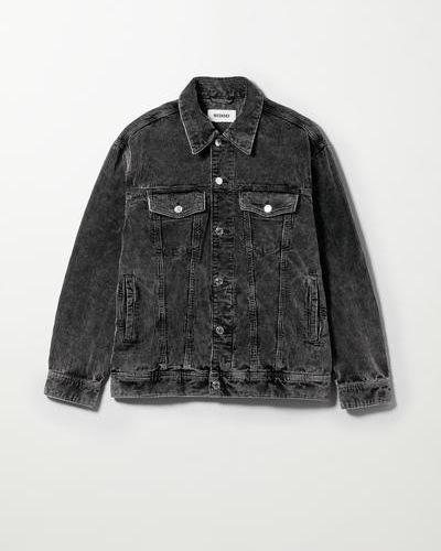 Серая джинсовая джинсовая куртка Weekday