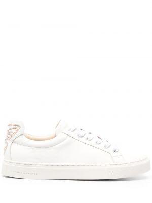Кожаные кроссовки - белые Sophia Webster