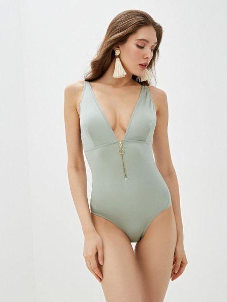 Купальник зеленый пляжный Dali