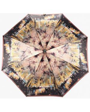 Зонт коричневый Fabretti