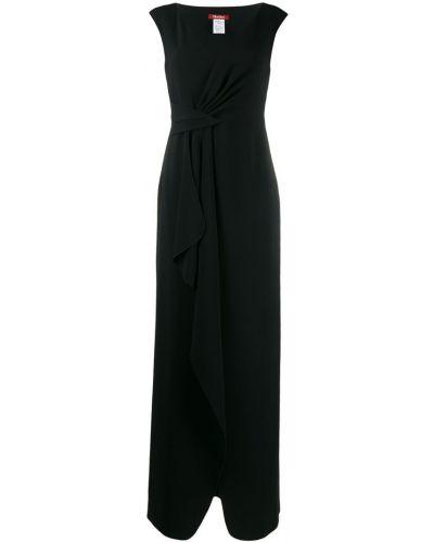 Вечернее платье макси с V-образным вырезом Max Mara Studio