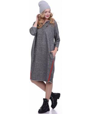 Платье в стиле бохо с V-образным вырезом Lautus