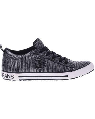 Черные кеды Armani Jeans