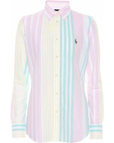 Рубашка в полоску оксфордская Polo Ralph Lauren