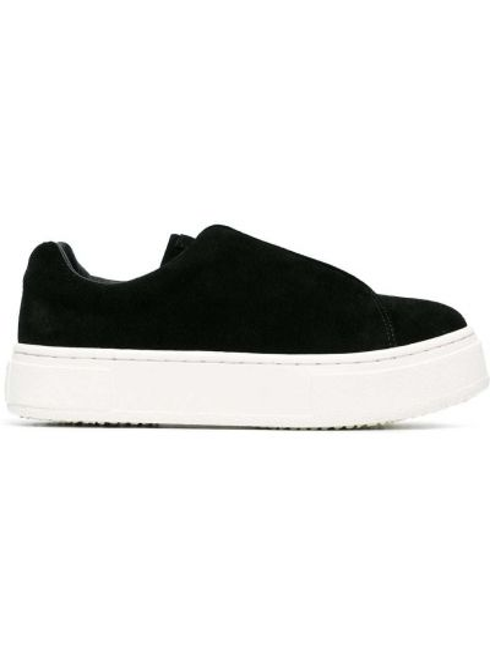Czarne sneakersy skorzane Eytys