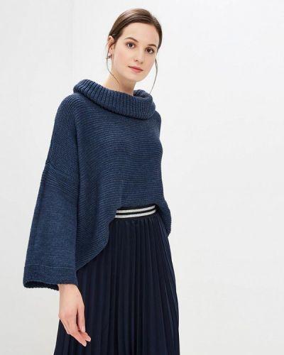 Синий свитер итальянский Perfect J