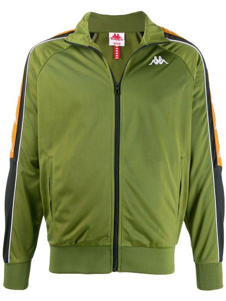 Куртка зеленая с манжетами Kappa