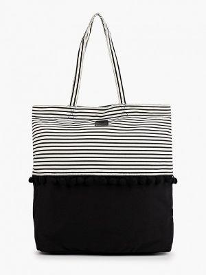 Черная хлопковая сумка Brunotti