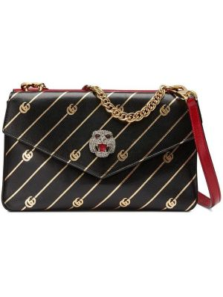 Skórzana torebka średnia na łańcuszku Gucci