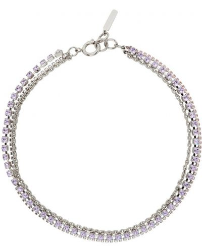 Choker - fioletowy Justine Clenquet