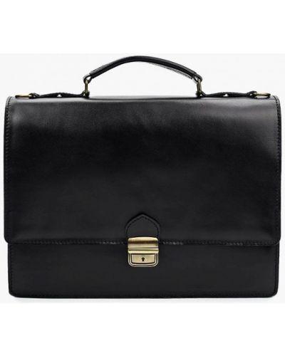 Кожаный портфель - черный Roberta Rossi