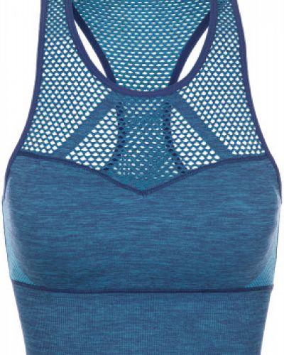 Синий спортивный костюм для фитнеса Demix
