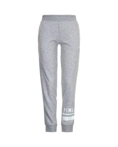 Спортивные брюки с карманами хлопковые Puma
