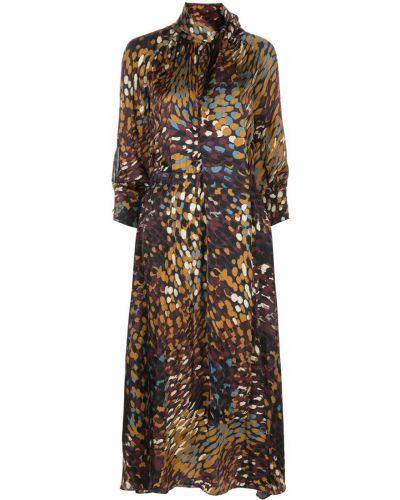 Sukienka z wiskozy Altuzarra