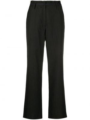 Черные прямые брюки Maison Martin Margiela Pre-owned