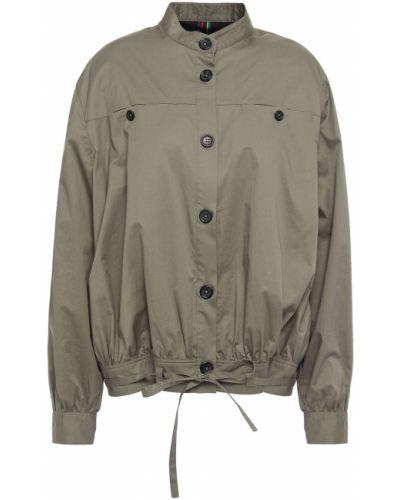 Хлопковая зеленая ватная куртка Ps Paul Smith