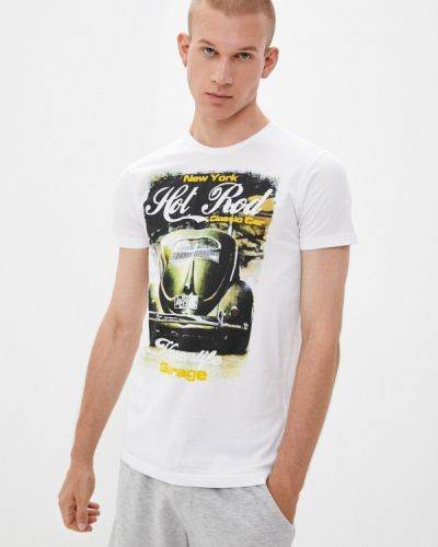 Белая футболка с короткими рукавами Hopenlife