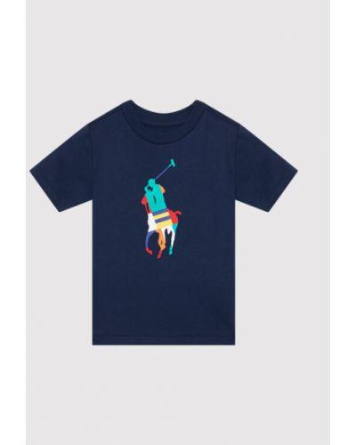 T-shirt granatowa Polo Ralph Lauren