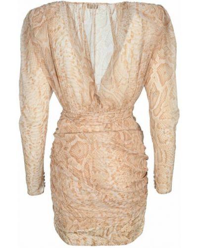 Beżowa sukienka Magda Butrym