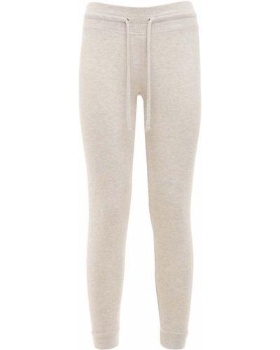 Бежевые брюки эластичные с завязками Beyond Yoga