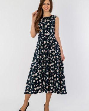 Платье миди синее S&a Style