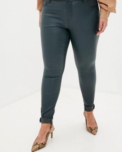 Прямые серые брюки Zizzi